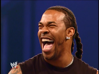 1318 - busta_rhymes celebrity laughing smackdown wwe