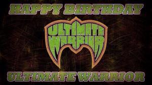Happy Birthday warrior