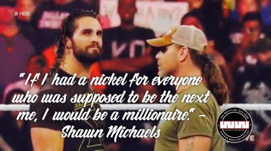 HBK talking sense