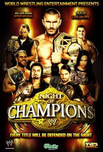 Night of Champions 2013 poster Jazz