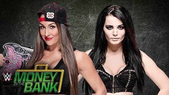 Nikki Bella Vs Paige