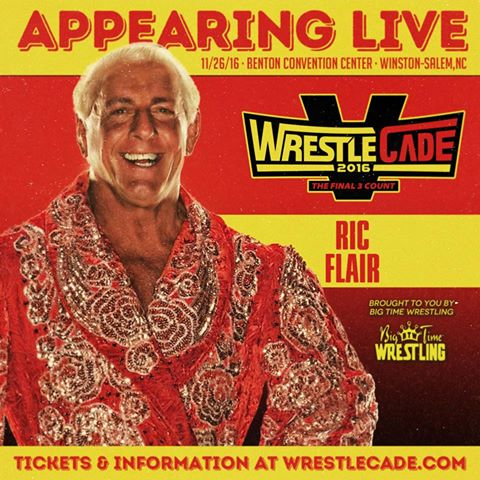 RIC FLAIR WRESTLECADE