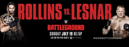 Rollins Vs Lesnar