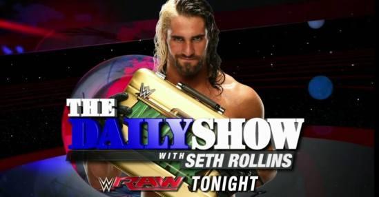 Seth Rollins daily show