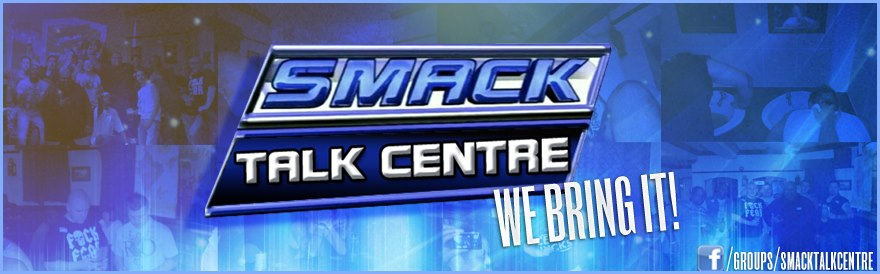 Blue SMACK TALK CENTRE RAW Banner
