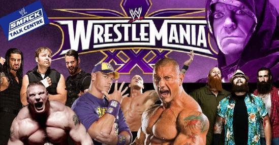 STC WrestleMania 30 Poster