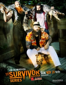 Survivor Series poster 2013