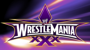 TRUE BIG BIG WRESTLEMANIA XXX LOGO
