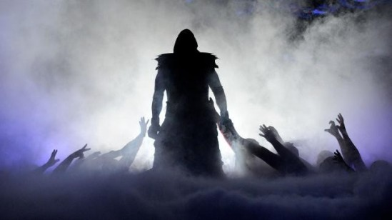 Undertaker entrance WMXXIX