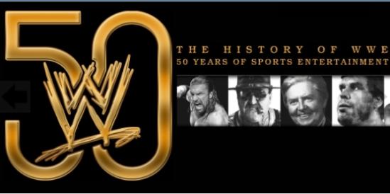 WWE 50 Years