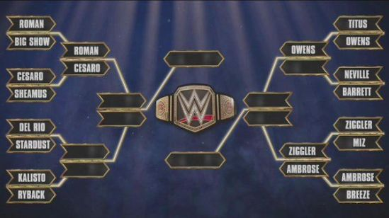 WWE title Tournament