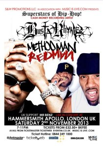 Method Man Redman Busta Rhymes Live