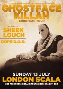 Ghostface Killah scala