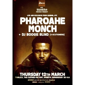 Pharoahe Monch flyer