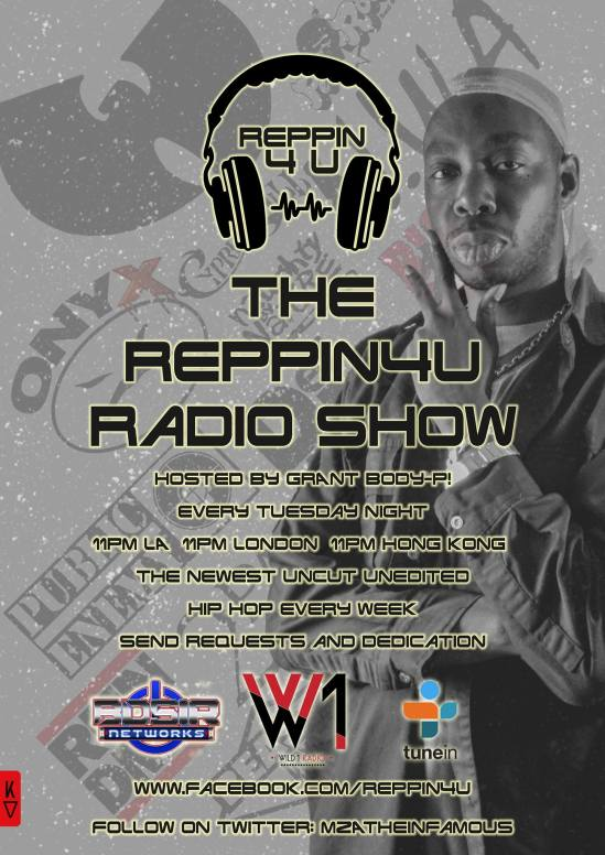 RePPiN4U Hip Hop Show updated