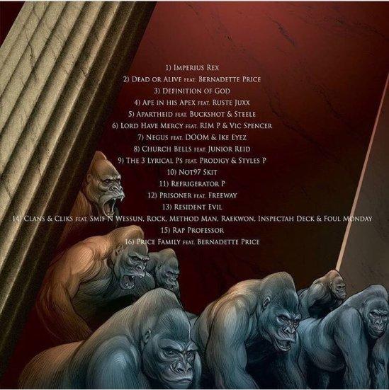 Imperius Rex tracklist