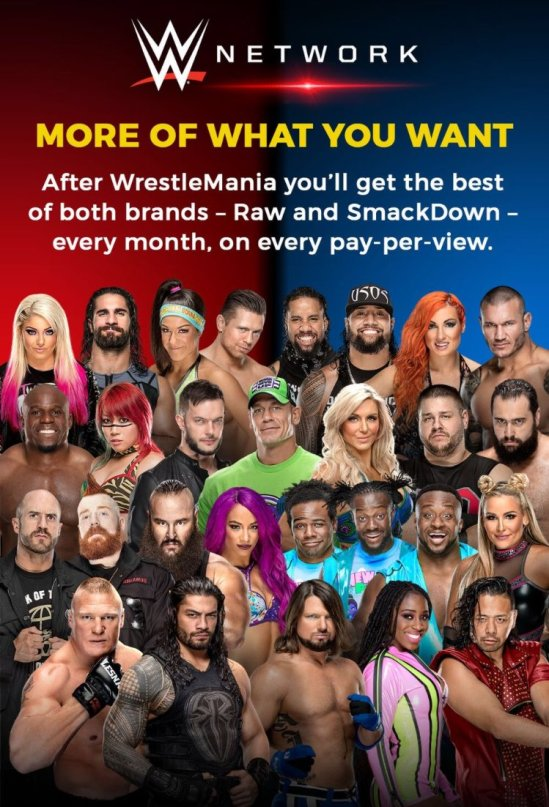 Combined WWE PPV
