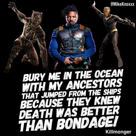Mike Knoxxx Killmonger meme