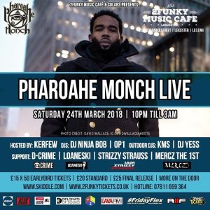 Pharaohe Monch live Leicester ig