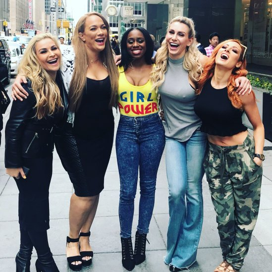 WWE SPICE GIRLS