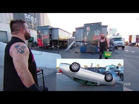 Kevin Owens car