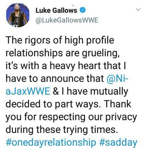 Luke Gallows epic fail