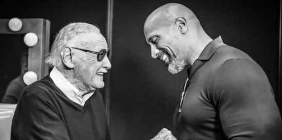 Stan-Lee-and-Dwayne-Johnson