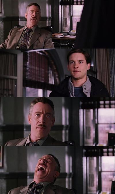 Spiderman-Laugh